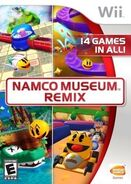 Namco Museum Remix Cover