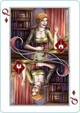 Playing Cards card Queen of Diamonds