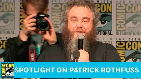 Spotlight on Patrick Rothfuss Full Panel San Diego Comic-Con 2016