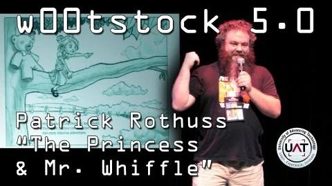 "Patrick Rothfuss reads ""The Thing Beneath the Bed"" at w00tstock 5"