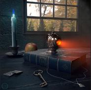 Kvothe's Sympathy Lamp