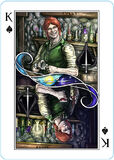 Playing Cards card King of Spades