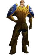 Escanor Armor Anime Design
