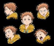 King anime character designs 1