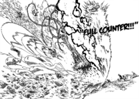 Meliodas Full Counter the Holy Knights