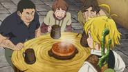 Meliodas serving his special pie