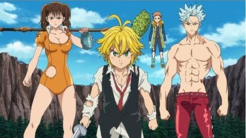 The Seven Deadly Sins Prisoners of the Sky - Trailer (OmU)