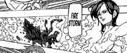 Merlin using Fire Storm