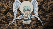 Sariel taunting the demons