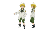 Meliodas anime character designs 3