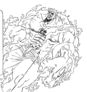 Escanor in The One form