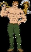 Escanor Anime Season 3 Design