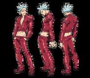 Ban anime character designs 2