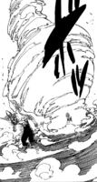 Meliodas holding the power of Revenge Counter