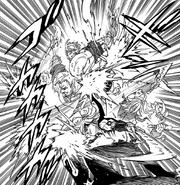 Meliodas and Escanor fierce battle