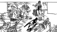 Merlin protects Hendrickson and Gilthunder