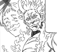 Escanor ask his friend to fight together