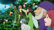 Fairies watching the Albion