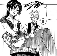 Merlin joins the dinner