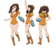 Diane anime character designs 2