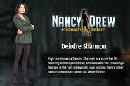 MiS bio Deirdre Shannon