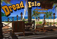 Dl postcard resort card