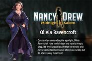 MiS bio Olivia Ravencroft