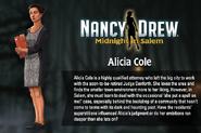 MiS bio Alicia Cole