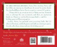 A Nancy Drew Christmas audiobook back