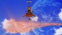 Vita prepares to use Dimensional Transfer