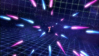 Amitie's bullets being fired