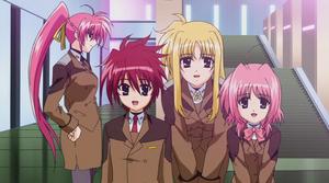Members of Forward Lightning