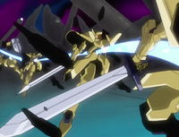 Stinger Snipe tearing through Presea's golems