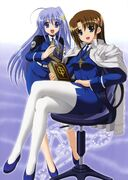 Hayate and Rein in Force