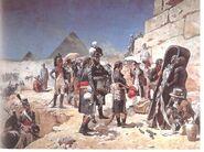 Bonaparte aux pyramides