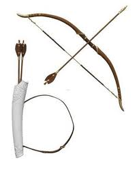 Susan's bow and arrows