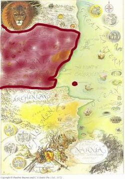 Baynes-Map of Narnia.jpg
