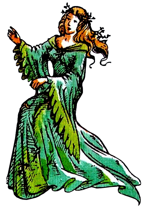 Lady of the Green Kirtle