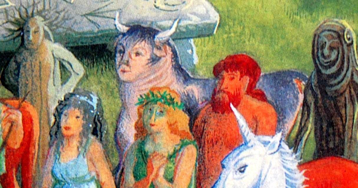 Human-Headed Bull