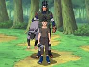 Asuma rescues Shikamaru (1)