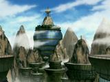 Villa oculta de la nube