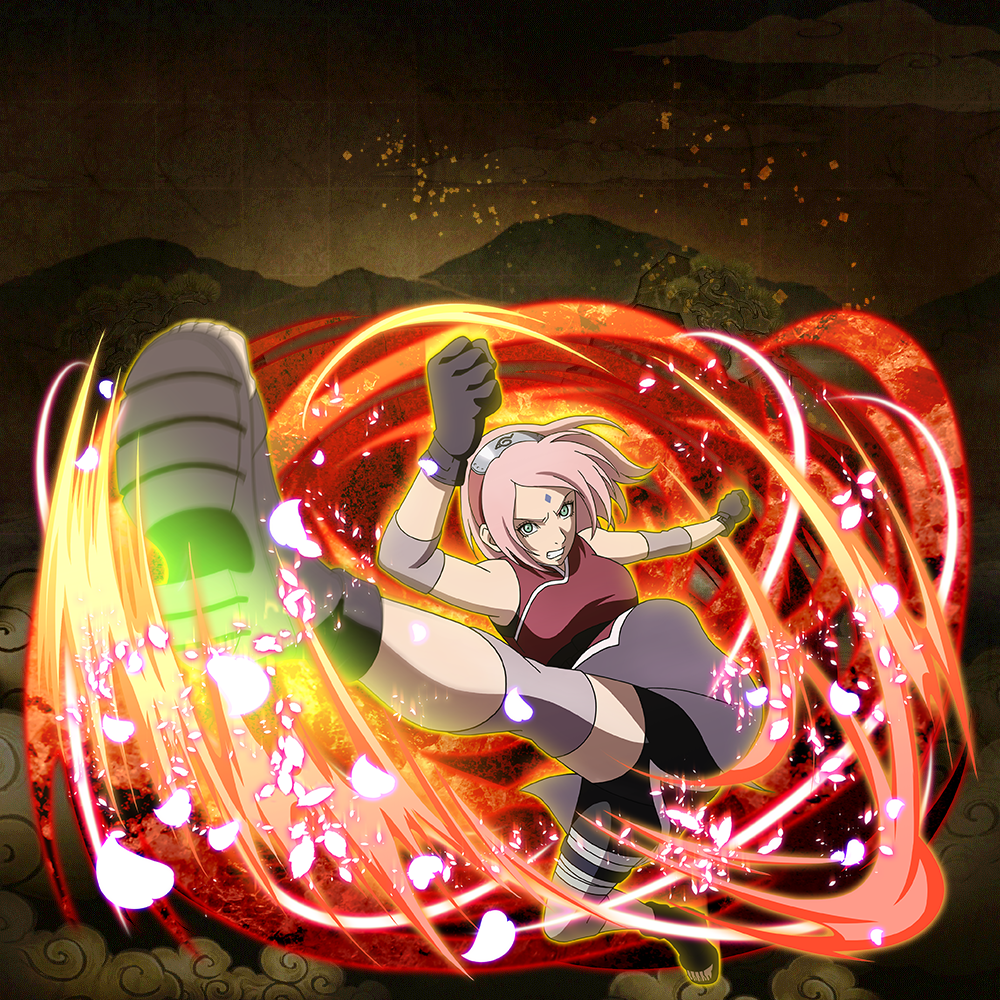 "Sakura Haruno ""Cherry Blossoms on the Front Line"" (★6)"