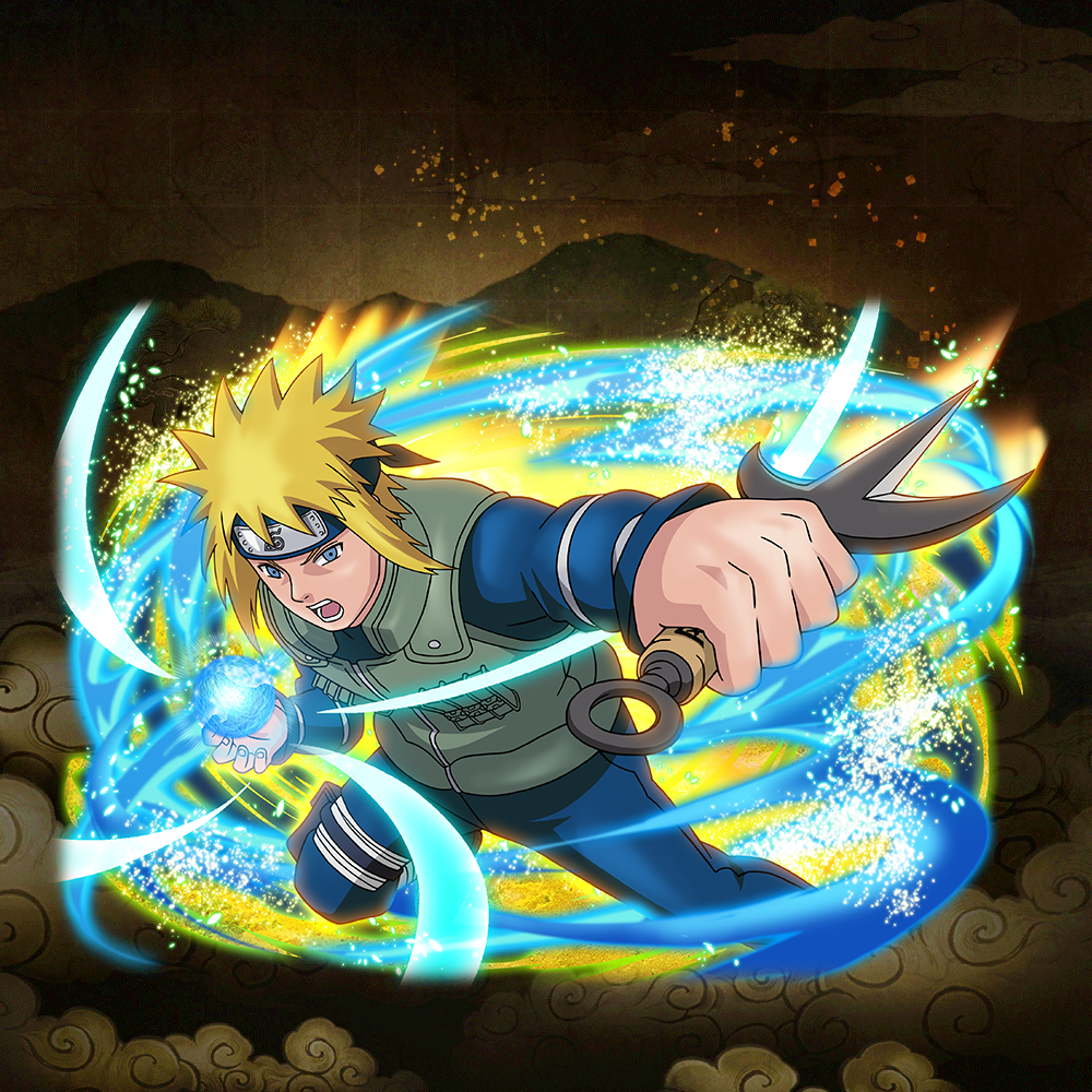 "Minato Namikaze ""Flash of the Battlefield"""