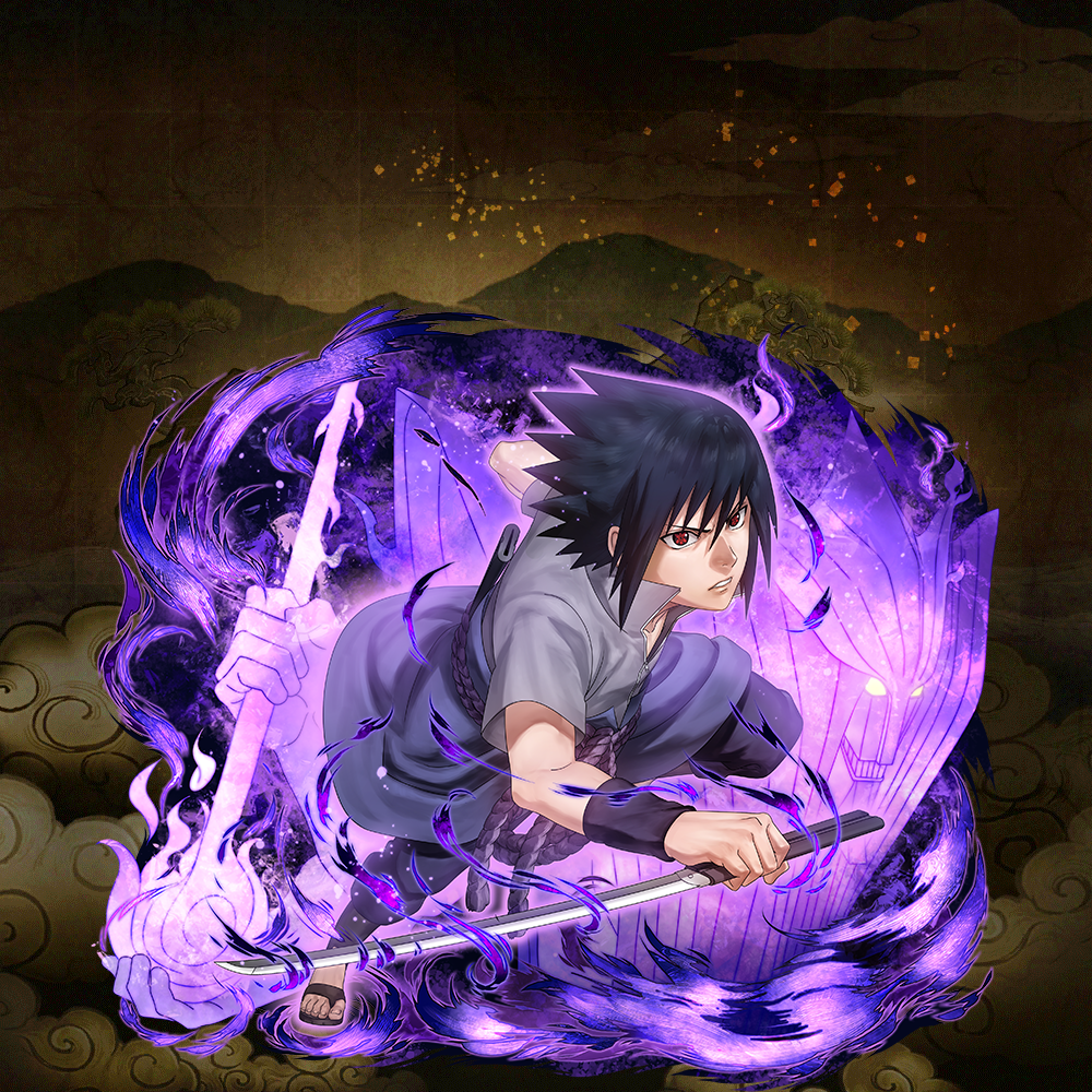 "Sasuke Uchiha ""Battling with your eyes"" (★5)"