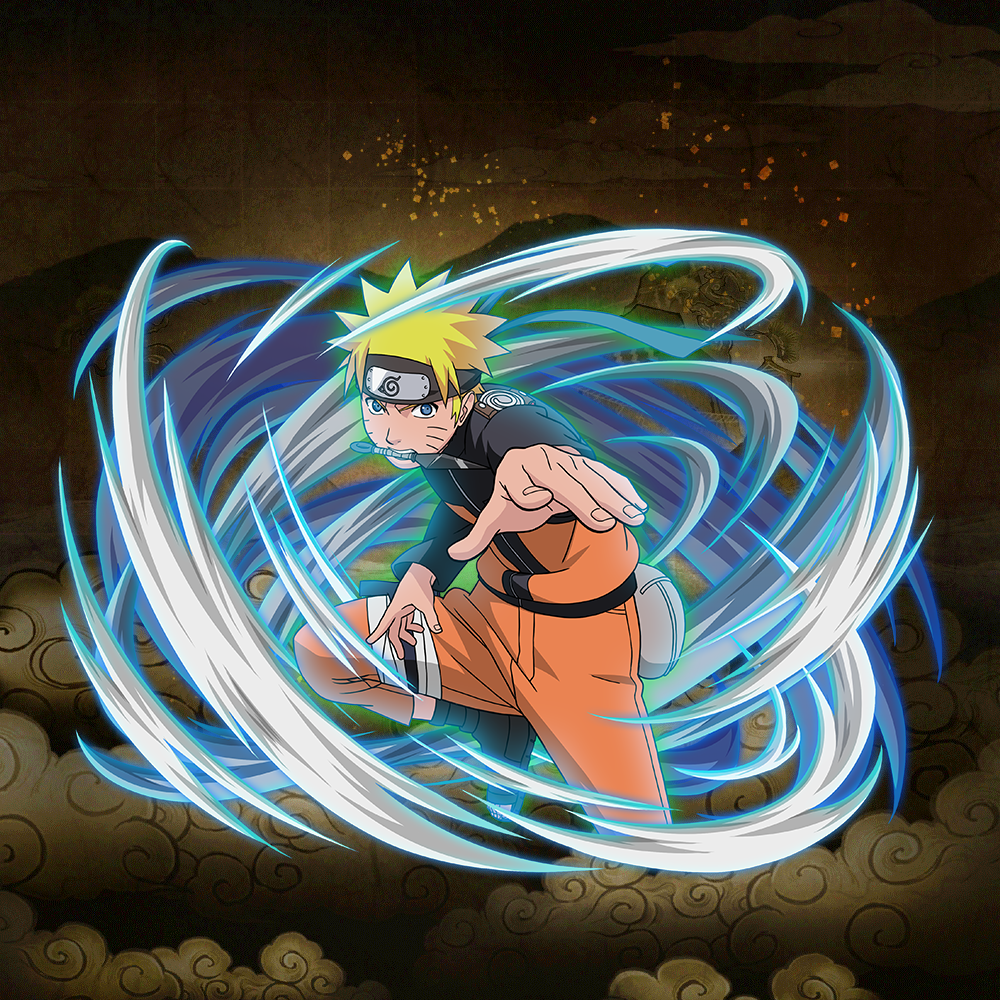 "Naruto Uzumaki ""Blowing Gale"""