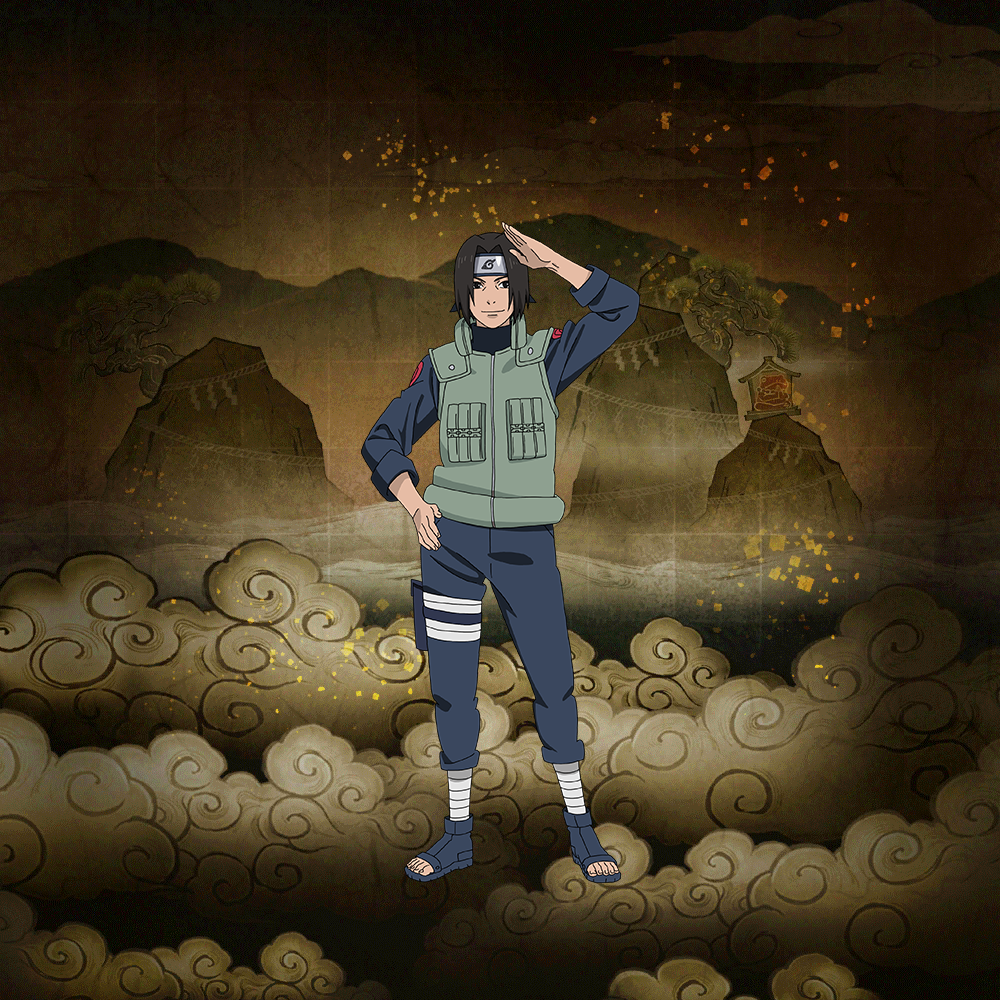 "Leaf Chunin Male ""Supporter of the Tree"""