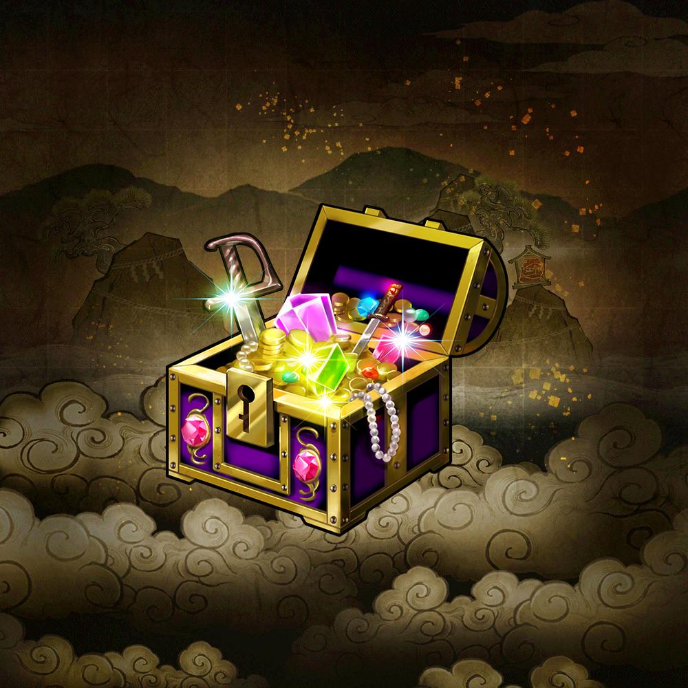 """Ultimate Treasure Chest """"Brilliant Wisdom Treasure"""""""
