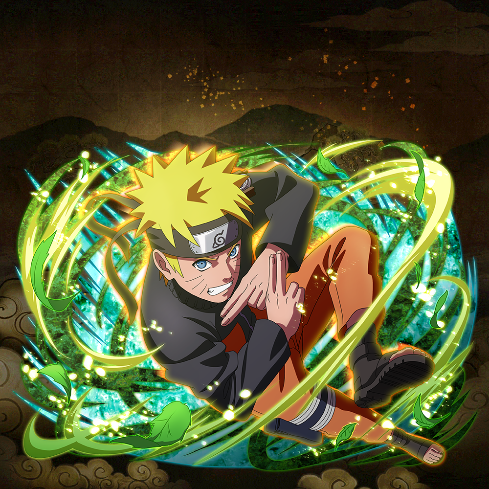 "Naruto Uzumaki ""Brave, Unyielding Heart"""