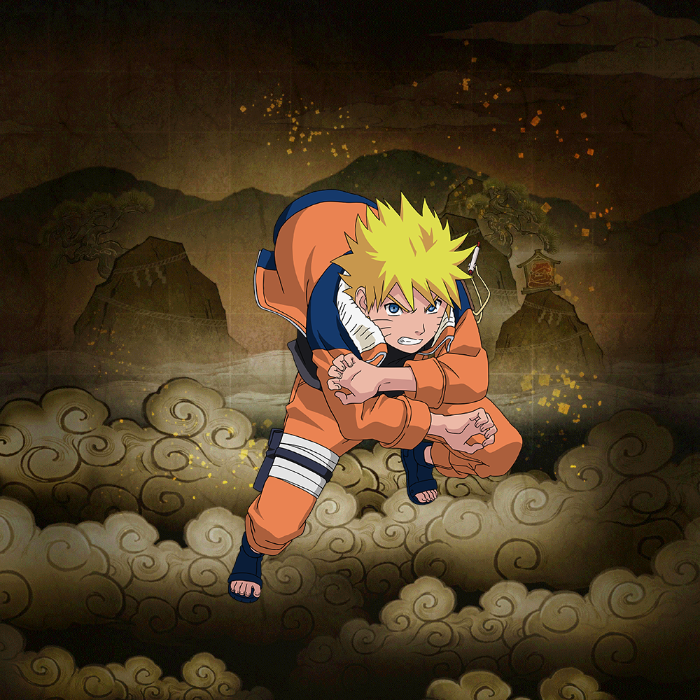 "Naruto Uzumaki ""Nine Tails Power-Up"" (★4)"