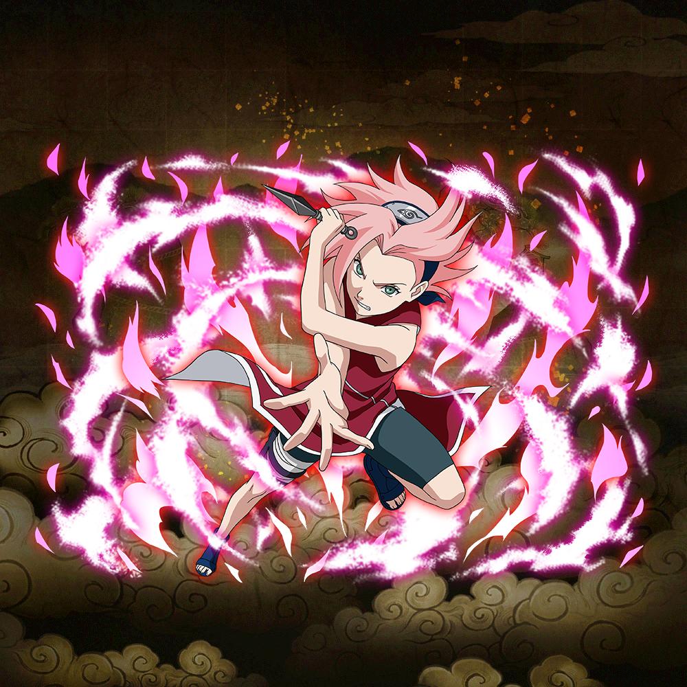 """Sakura Haruno """"Hardened Resolve"""" (★6)"""